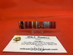 Original WW2 German Army Medal Bar Ribbon Bar Wehrmacht Romanian Ribbons