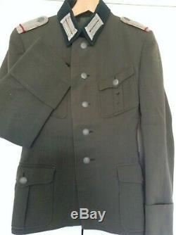 Original WW2 German Army Uniform Infantry Lieutenants Service Dress Tunic