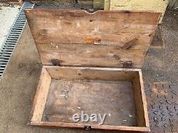 Original WW2 German Army Wooden Box K. 18