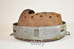 Original WW2 German Helmet Liner Steel/Zinc Mid War M40 M42 Dated 1942 64/57