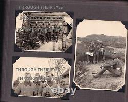 Original WW2 German photo album Soviet Union Panzers Stug POWs Refugees tanks