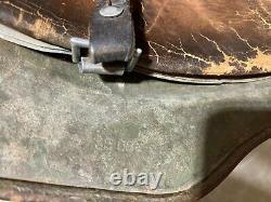 Original WWII German Army M35 DD Stahlhelm Combat Helmet 1940 reissue Vet item