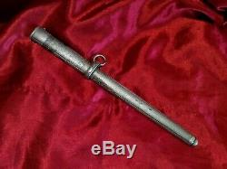 Original WWII German Army Officer's Dagger Part, SCABBARD ONLY