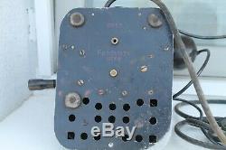 Original WWII WW2 Old German Army Military Bakelite Metal Telephone