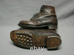 Original Ww2 German Army Issue M43 Short Boots