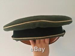 Original wwii ww2 german army wehrmacht military cap hat