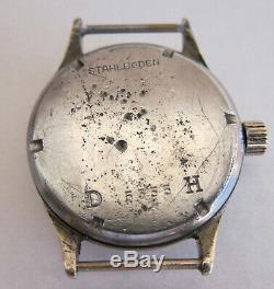 PHENIX DH 5555 Wristwatch German Army Wehrmacht of period WWII. Military
