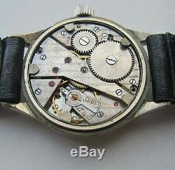PHENIX DH Wristwatch German Army Wehrmacht of period WWII. Military. Cal. 1130