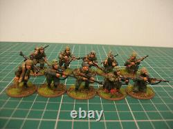 Painted 28mm WW2 Bolt Action German airborne 1000 point army miniatures