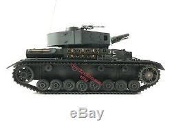 RARE 118 21st Century Toys Ultimate Soldier WWII German Army Panzer IV Tank RC