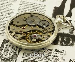RARE military pocket watch German Army HELIOS DH Deutsches Heer of period WWII V