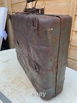Rare Complete! WW2 German Stick Grenade Box Normandy Barn Find
