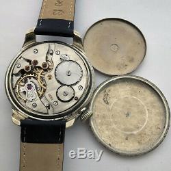 Rare Military German Army ARSA Swiss Wristwatch WW2