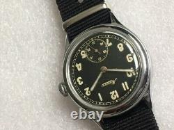 Rare Military watch Minerva DH for the German army WW2 Wehrmacht