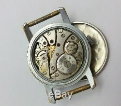 Rare Nisus German Army Military watch WWII Wehrmacht 1939-1945 SWISS MADE