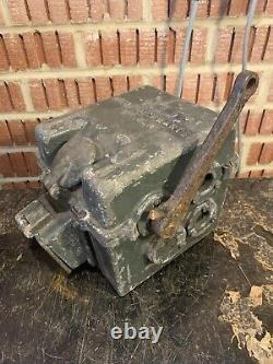 Rare WW2 German Army Bunker Pedal Generator TM5a 1937 Dated