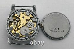 Rare Watch German Army ETANCHE 14 DH of period WW2