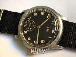 Rare watch 1940s WW2 GERMAN MILITARY ARSA DH