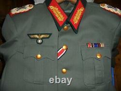 Repro WW2 GERMAN GENERAL'S DRESS JACKET