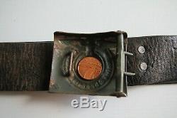 SS German army WW2/WWII belt and bukcle