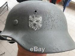 Stahlhelm M35 Wehrmacht 2wk WW2 German helmet army WWII elmetto tedesco