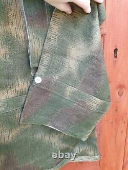 Tan And Water Camo Smock Original Cloth WH panzergrenadier WW2 German