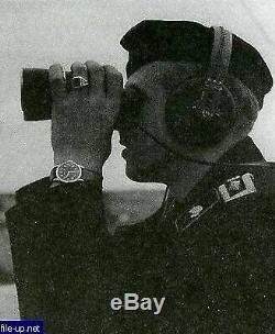 Ultra rare watch Military Minerva German Army WW2 Wehrmacht