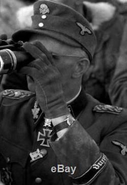 VINTAGE RARE WW2 German Army Military wehrmacht DH SWISS WATCH BUREN GRAND PRIX