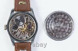 Vintage Swiss Watch BUREN German Army Military WW2 Büren