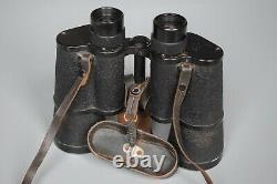 Vintage WWII German 7x50 Dienstglas BMK Srb & Stys Complete Set + Accessories
