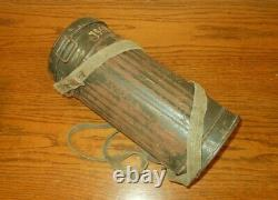 WW II German Army Air Force M30 GAS MASK & CANISTER NAMED NICE