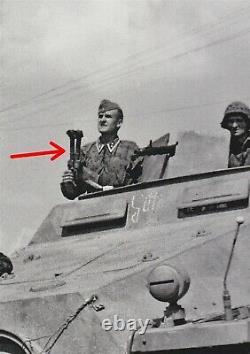 WW II German Army Handwinkelfernrohr (f) 8x24 PERISCOPE Sd. Kfz. 251 NICE