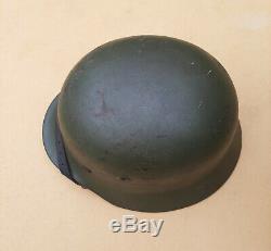 WW II German Stahlhelm Helmet M40 Q64 Wehrmacht Heer Army Military