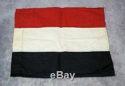 WW1 German Imperial banner flag tricolor WW2 US Army war Veteran estate military