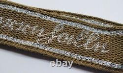 WW1 German cuff title patch US WWII Army estate uniform sleeve insignia flatwire