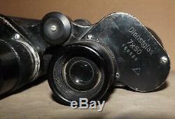 WW2 GERMAN ARMY BINOCULARS bmk Dienstglas 7x50