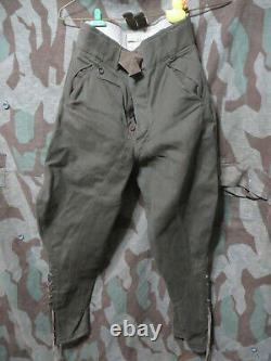 WW2 German Afrika Korps Tropical 1943 Officers Trousers Pants Uniform DAK Vet