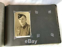WW2 German Album, Original, Army, Wehrmacht, Military, Photographs, Heer, Photos, Lot