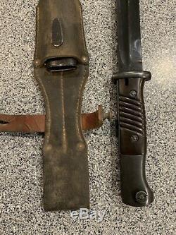 WW2 German Army Bayonet 42 asw