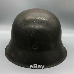 WW2 German Army M42 Helmet Shell Ckl66 Original Paint