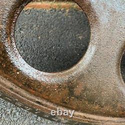 WW2 German Army SdKfz 251 Half Track Wheel Original Normandy Barn Find