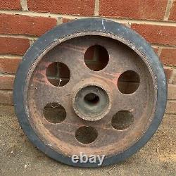 WW2 German Army SdKfz 3 Half Track Maultier Wheel Original Normandy Barn Find