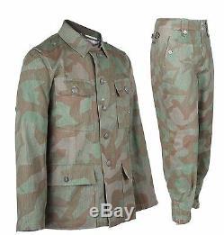 WW2 German Army Wh M43 Splinter Field Military Uniform S M L XL XXL XXXL
