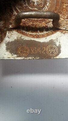 WW2 German Belt Buckle. MEINE EHRE HEIßT TREUE! For Waffen $$