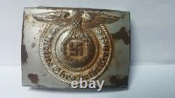 WW2 German Belt Buckle. MEINE EHRE HEIßT TREUE! For Waffen SS