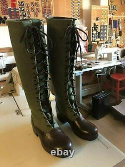 WW2 German DAK Afrika Korps boots repro size 11 (uk) 12 (usa)