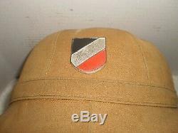 WW2 German DAK Afrika army pith helmet, 1941, size 55, orig