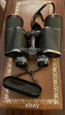 WW2 German Dienstglas beh kf 10x50 serial no. 381804 Binoculars