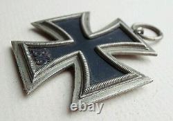 WW2 German Iron Cross 2nd Class Maker Marked 24 Original And Genuine Cross