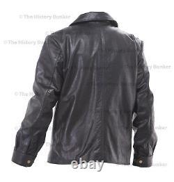 WW2 German Luftwaffe Stumbock leather jacket BLACK repro made to order